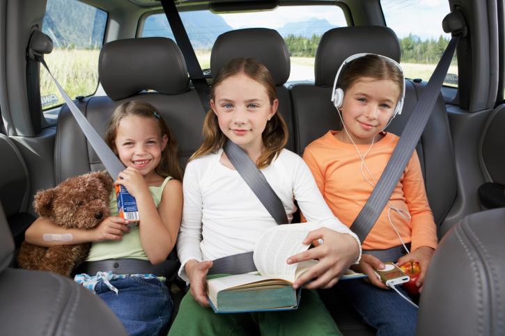 Дети в авто: новые правила перевозки
